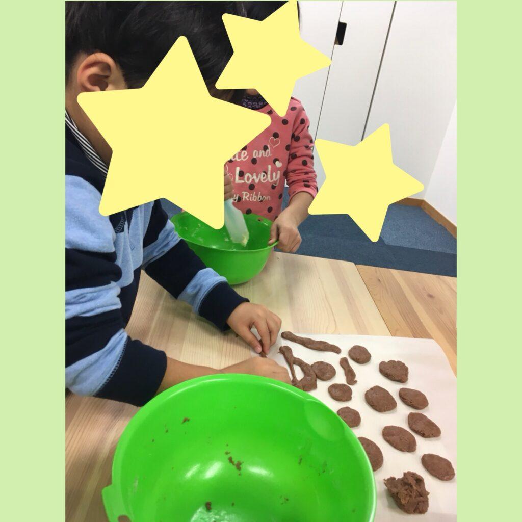 1月5日 クッキー作り
